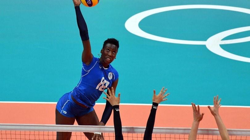 Volley: A1 Femminile, Paola Egonu sarà la bomber di Novara