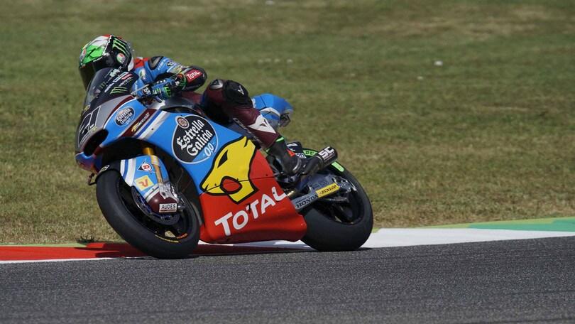 Moto2 Mugello, scatto Morbidelli: è in pole