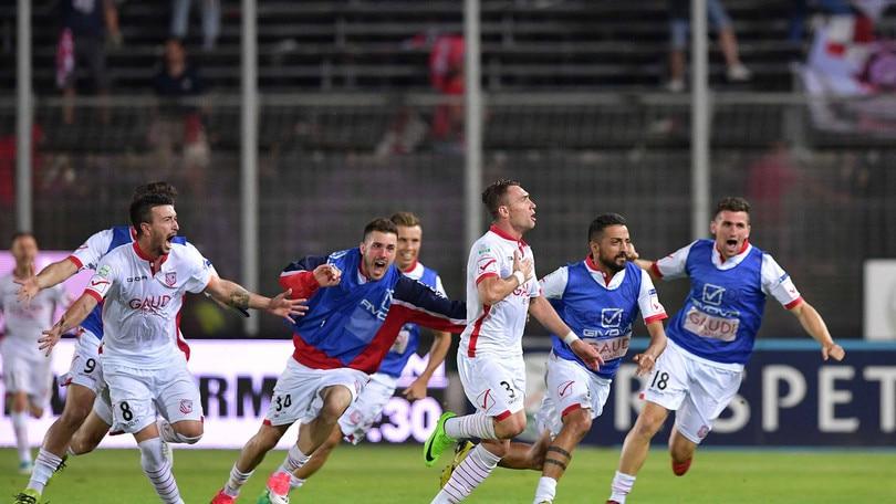 Serie B, finale play off: Carpi-Benevento, biancorossi avanti a 2,35