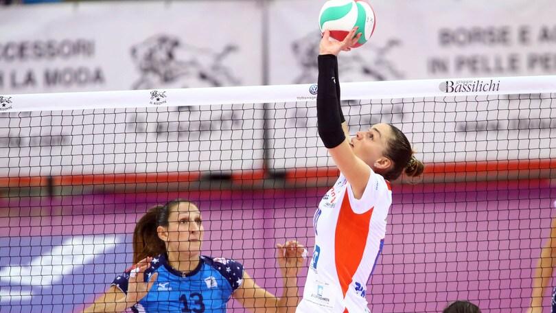 Volley: A1 Femminile, Giulia Pincerato sarà la vice-Ferretti
