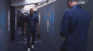 La Juventus arrivata allo stadio