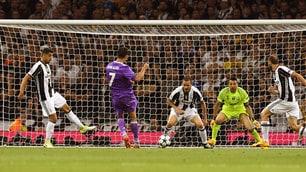 Champions League, il gol del Real Madrid segnato da Cristiano Ronaldo