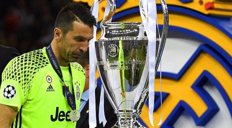 Juventus, Buffon: «Puniti dagli episodi, ma il Real Madrid ha meritato»