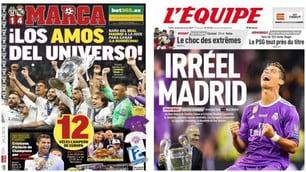 «Maestri dell'universo». L'impresa del Real Madrid sui giornali stranieri