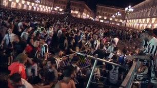 Paura a Torino: scene di panico in piazza San Carlo