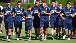 L'Italia si prepara per sfidare l'Uruguay