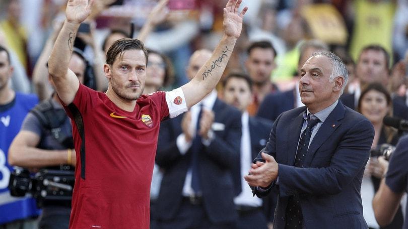 Roma, Pallotta ha le idee chiare su Totti: