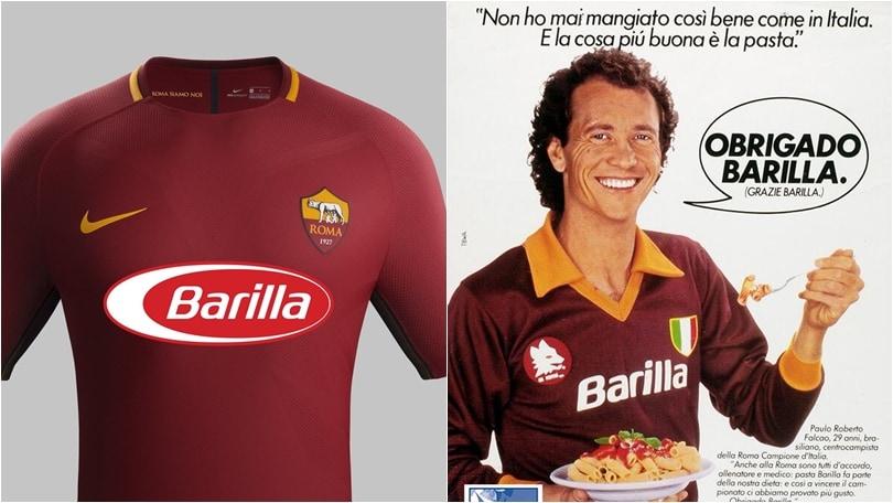 Roma, sul web c'è già la maglia Barilla