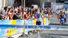 Miglio di Roma, grande festa dello sport