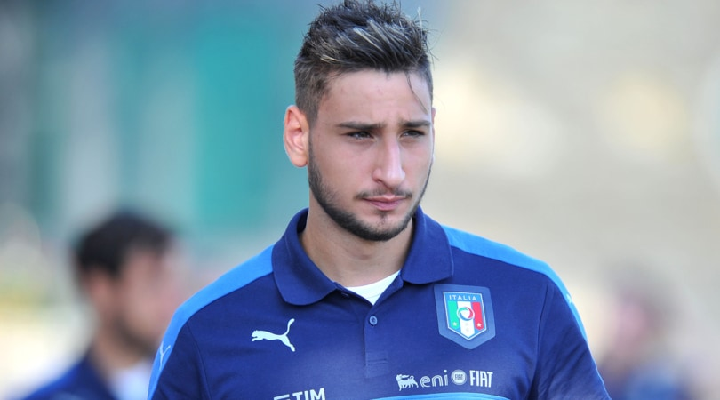 Italia Donnarumma ha scelto sì all'Europeo Under 21