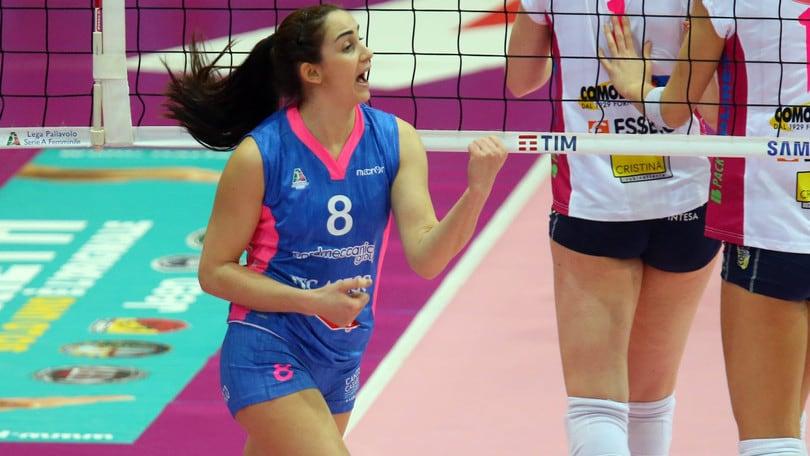Volley: A1 Femminile, Marika Bianchini firma per Scandicci