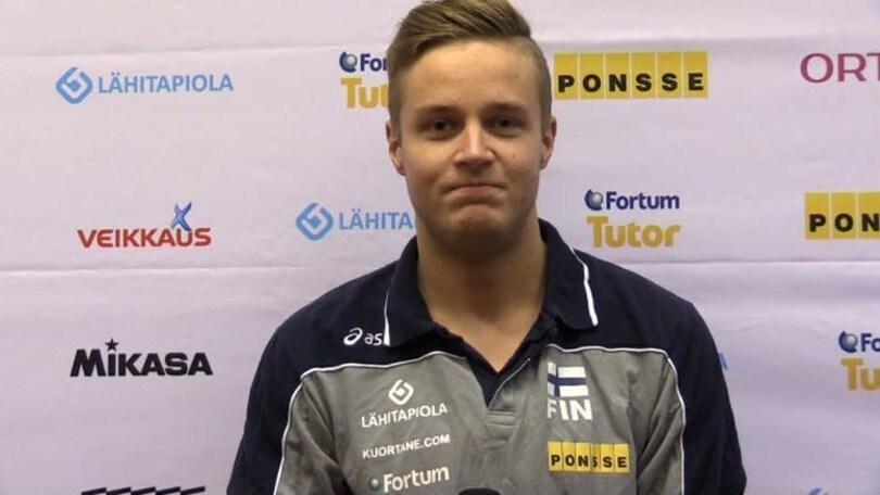 Volley: Superlega, ancora un acquisto per Perugia, il finlandese Tommi Siirilä