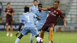 Derby Primavera, la 'manita' della Roma alla Lazio