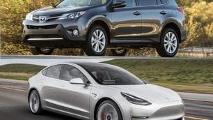 Toyota vende le sue quote della Tesla