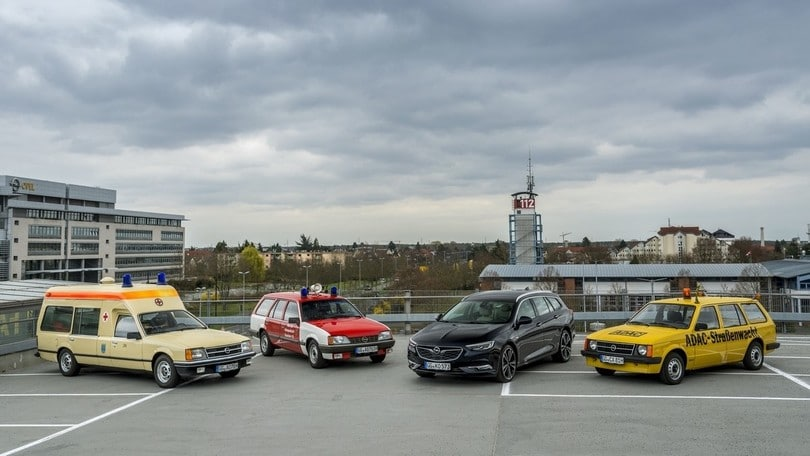Le Opel storiche al 23° rally dell'Assia-Turingia