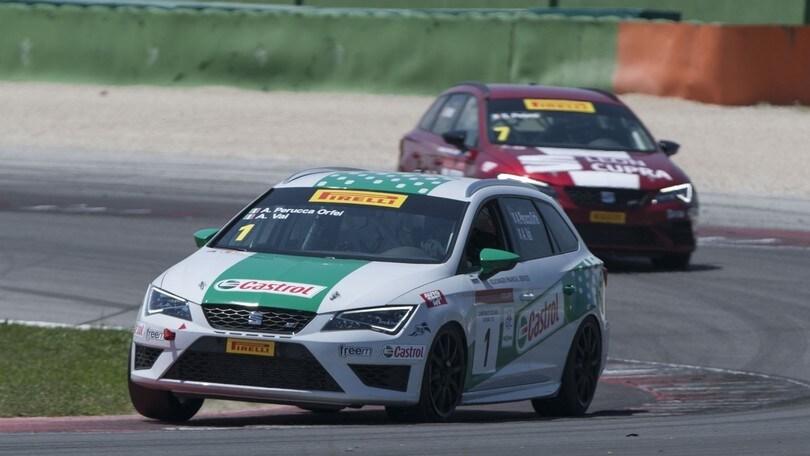 Seat Leon ST Cup, la gara di Misano nel Campionato TCS