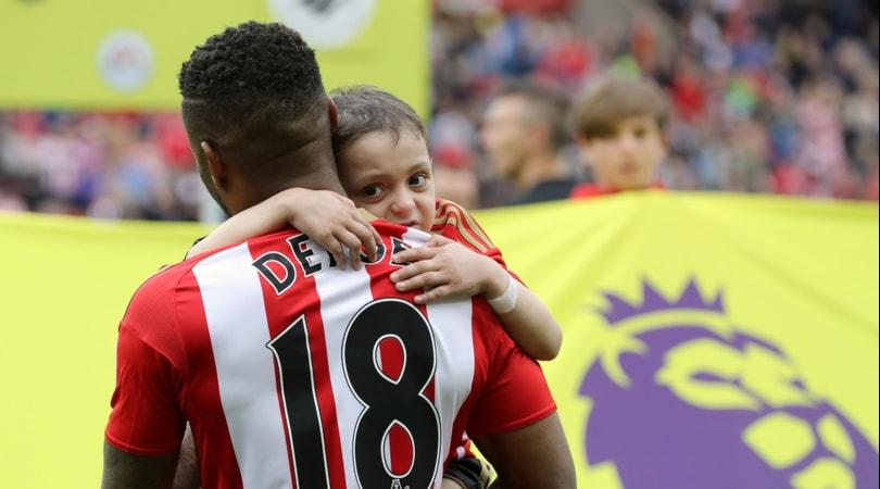 Il cuore di Defoe si spezza per il piccolo Bradley:«Non ti lascerò solo»