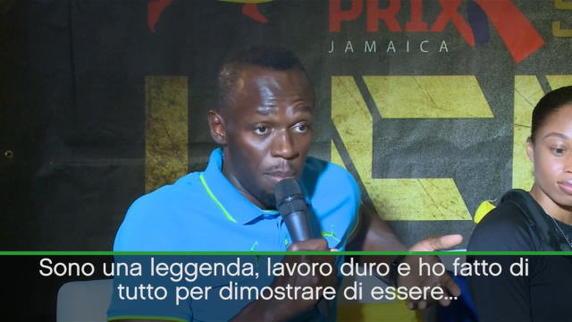 """Bolt come Ibra: """"Sono una leggenda"""""""