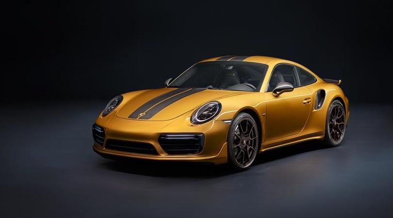 Porsche 911 Turbo S Exclusive, più potente che mai