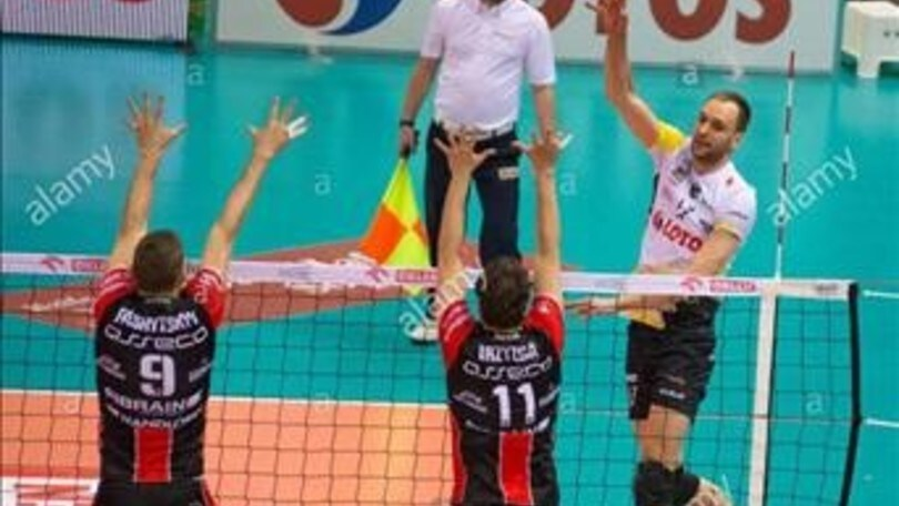 Volley: Superlega, primo colpo per Castellana: Hebda