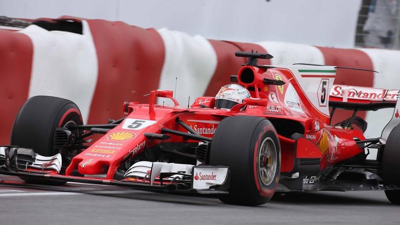 F1, Gp Canada: Vettel-Raikkonen nelle terze libere