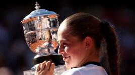 Roland Garros: Ostapenko, che gioia per la vittoria del suo primo torneo