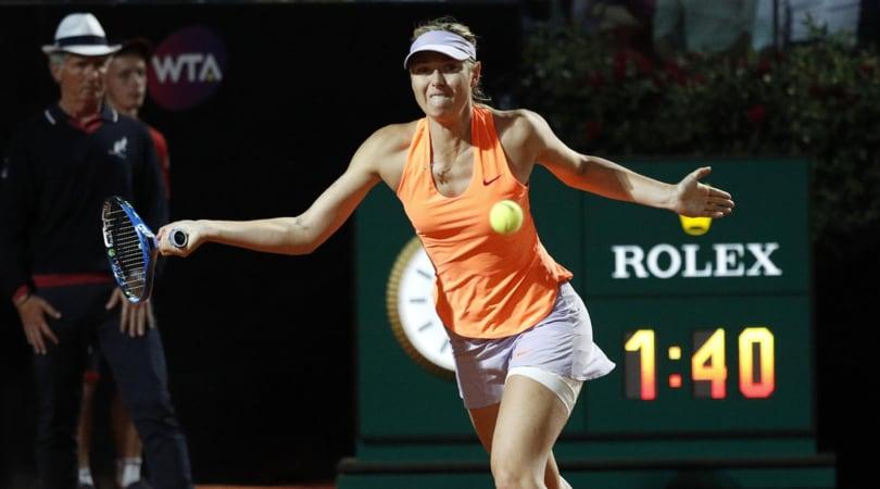 Tennis: Sharapova salta Wimbledon per uno stiramento