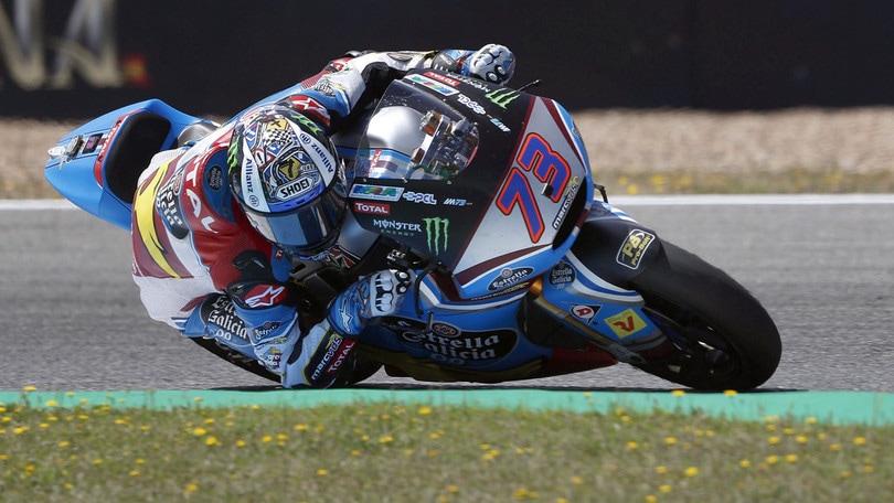 Moto2 Silverstone: imprendibile Marquez nelle terze libere