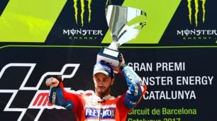 MotoGp: Dovizioso domina in Catalogna, Rossi delude