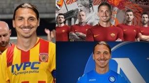 Ibrahimovic, tutti lo vogliono: sui social è boom di fotomontaggi
