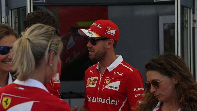 F1, Vettel: «Oggi meritavo di più»