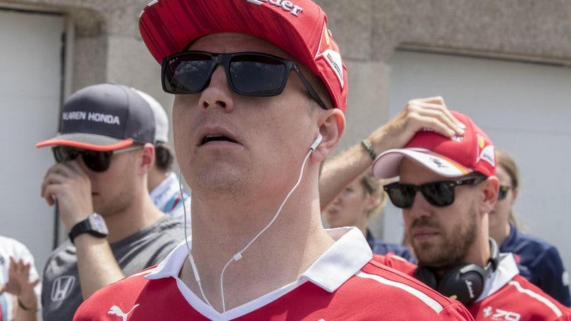 F1, Raikkonen: «È stata una giornata difficile»