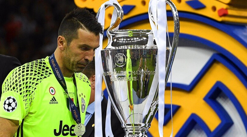 Image result for buffon champions piange