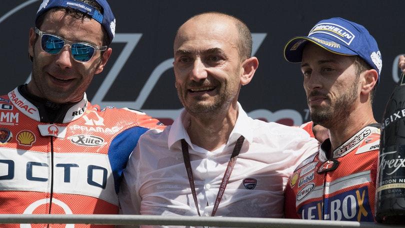MotoGp Ducati, Domenicali: «Stiamo pensando a Iannone e Crutchlow»