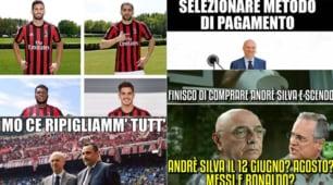 """André Silva al Milan, ironia web: """"Fassone e Mirabelli prendono tutti"""""""