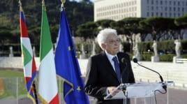 Mattarella al Coni, storica visita: «Sport ci fa sentire popolo»