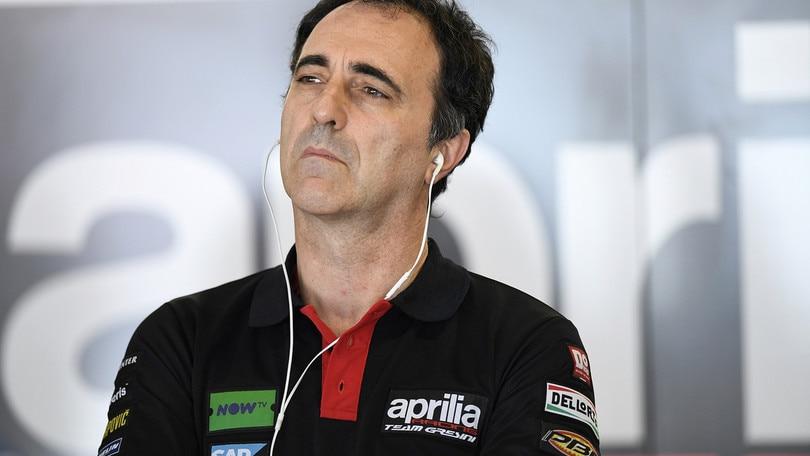 MotoGP Aprilia, Albesiano: «Ci piacerebbe avere Petrucci»