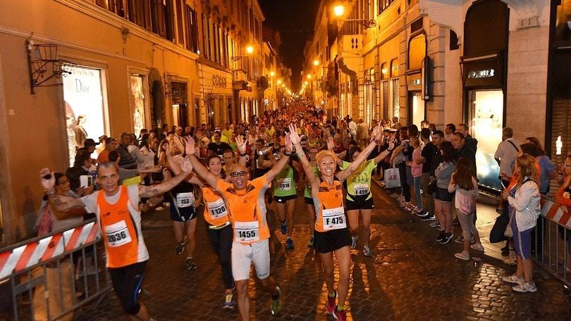 Atletica - Sabato la Mezza Maratona di Roma in notturna