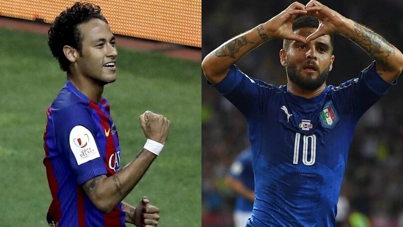CIES, Neymar vale più di tutti. Insigne primo degli italiani