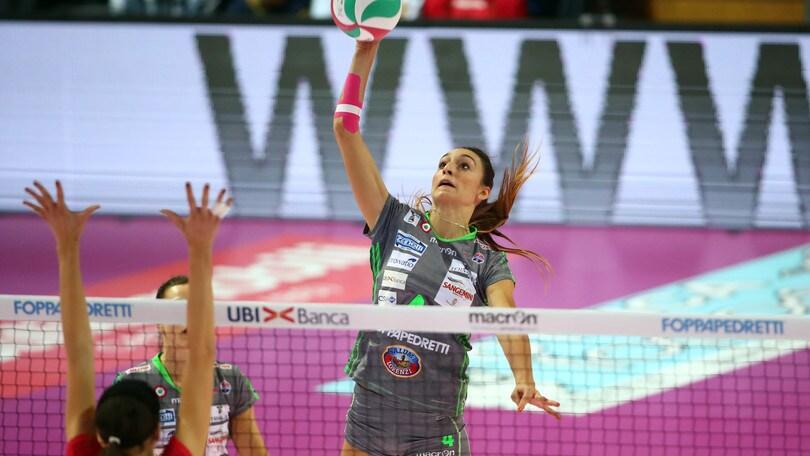 Volley: A1 Femminile, Modena ingaggia anche Laura Partenio