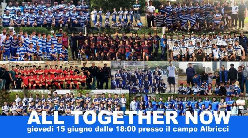 """""""All Together Now"""": la festa della Partenoper Rugby"""