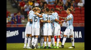 Argentina-Singapore, in gol anche Fazio e Paredes