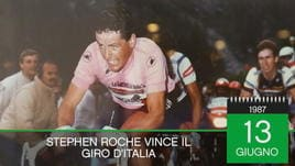 On this day - Roche vince il Giro '87