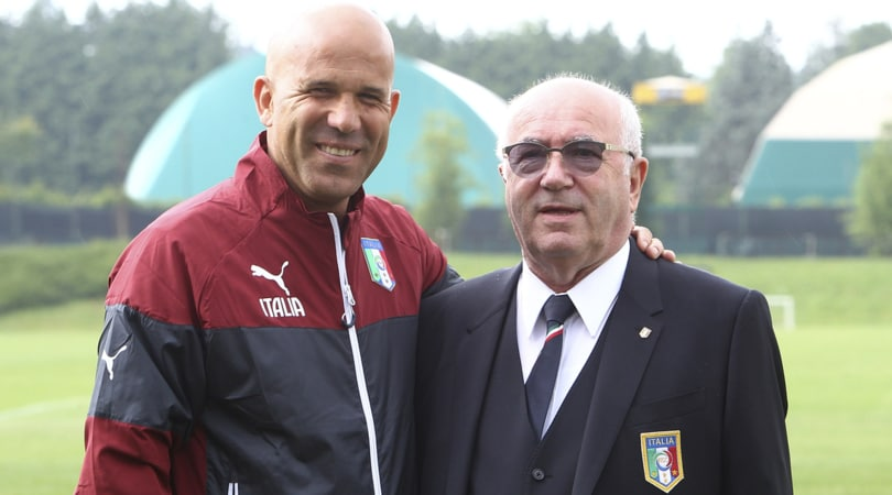 Europeo Under 21, Tavecchio: «Italia? Semifinale obiettivo minimo»