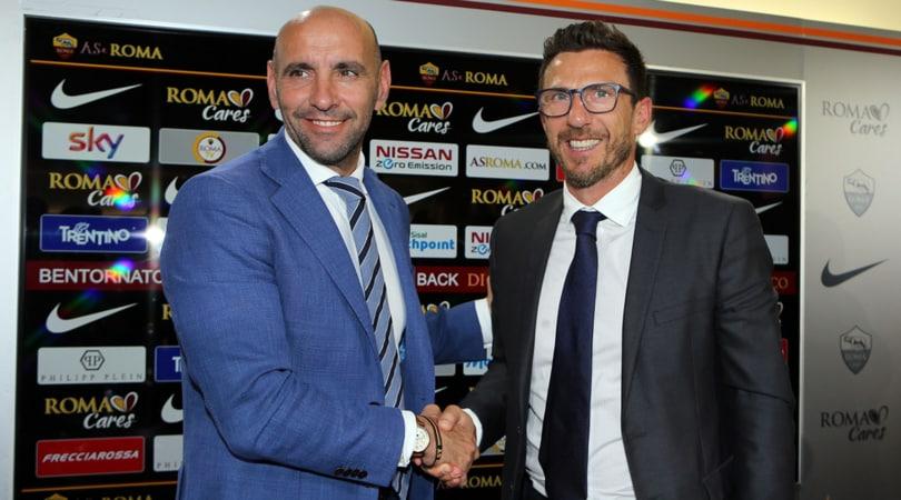 Calciomercato, Monchi: «La Roma non è un supermercato. Rüdiger rimane»