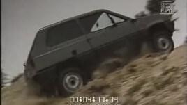 Amarcord: Giancarlo Baghetti prova la Panda 4x4 dell'83