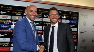 Di Francesco, la prima conferenza stampa da allenatore della Roma