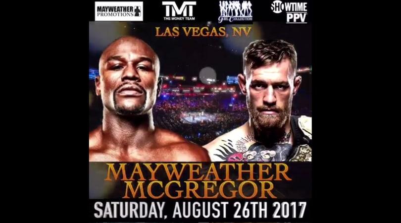 Mayweather-McGregor, ora è ufficiale: il 26 agosto a Las Vegas
