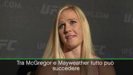 "Holm: ""McGregor v Mayweather? Un ibrido futuribile..."""