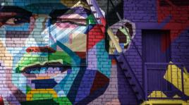 Confederations Cup, a Kazan spunta il murales di Cristiano Ronaldo